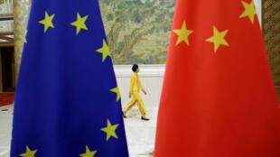 Đối thoại kinh tế cấp cao EU - Trung Quốc tại Bắc Kinh. Ảnh tư liệu chụp ngày 25/06/2018.