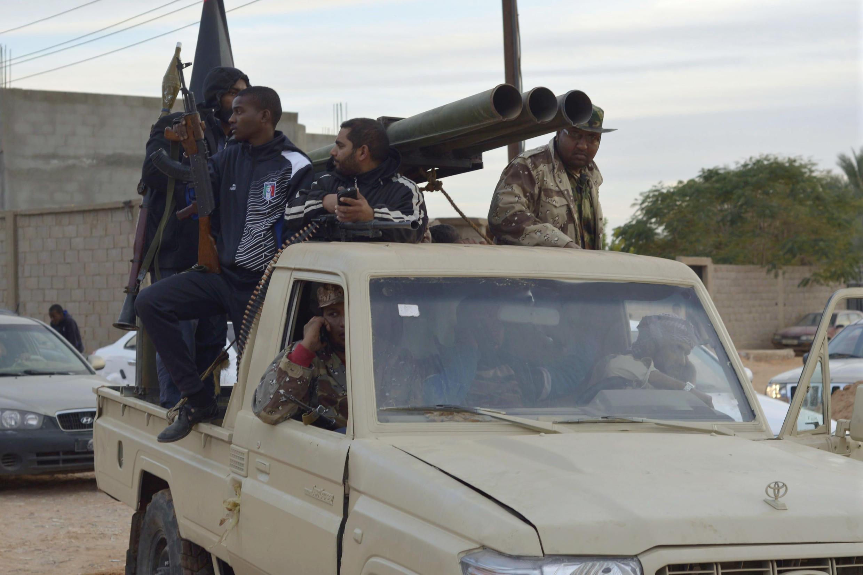 Des membres de l'armée libyenne, à Sabha, dans le sud de la Libye (photo d'illustration).