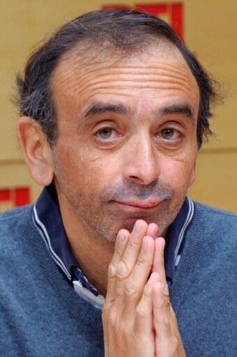 Eric Zemmour, dans les studios de RTL à Paris, le 27  février 2012.