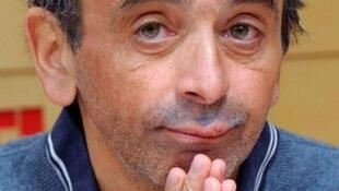 Controversial broadcaster Eric Zemmour