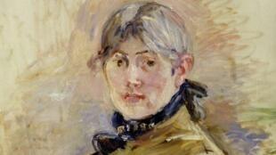 """Autorretrato"", Berthe Morisot, 1885."