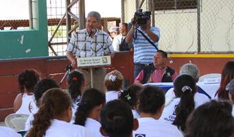 Norman Quijano, alcalde de San Salvador y favorito para su reelección este domingo.