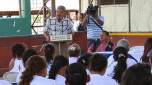 Norman Noel Quijano, alcalde de San Salvador, capital de El Salvador.