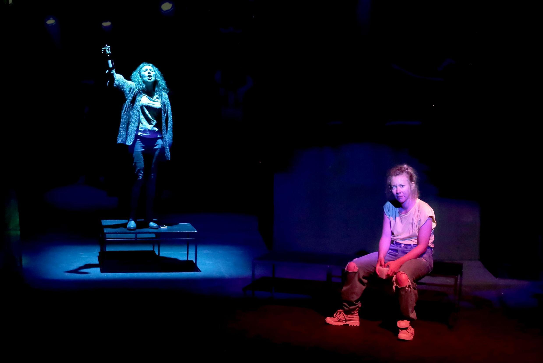 Andréa Bescond et Eric Métayer présentent «Déglutis, ça ira mieux», au Festival Off d'Avignon.