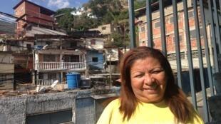 Elizabeth Tarrío, habitante du quartier et membre de l'association Mi Convive: «Cotiza s'est réveillé».