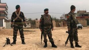 Askari wa Afghanistan mjini Kabul.
