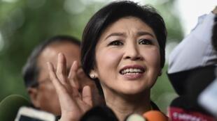 Yingluck Shinawatra, a ex-primeira-ministra da Tailândia, em 2016.