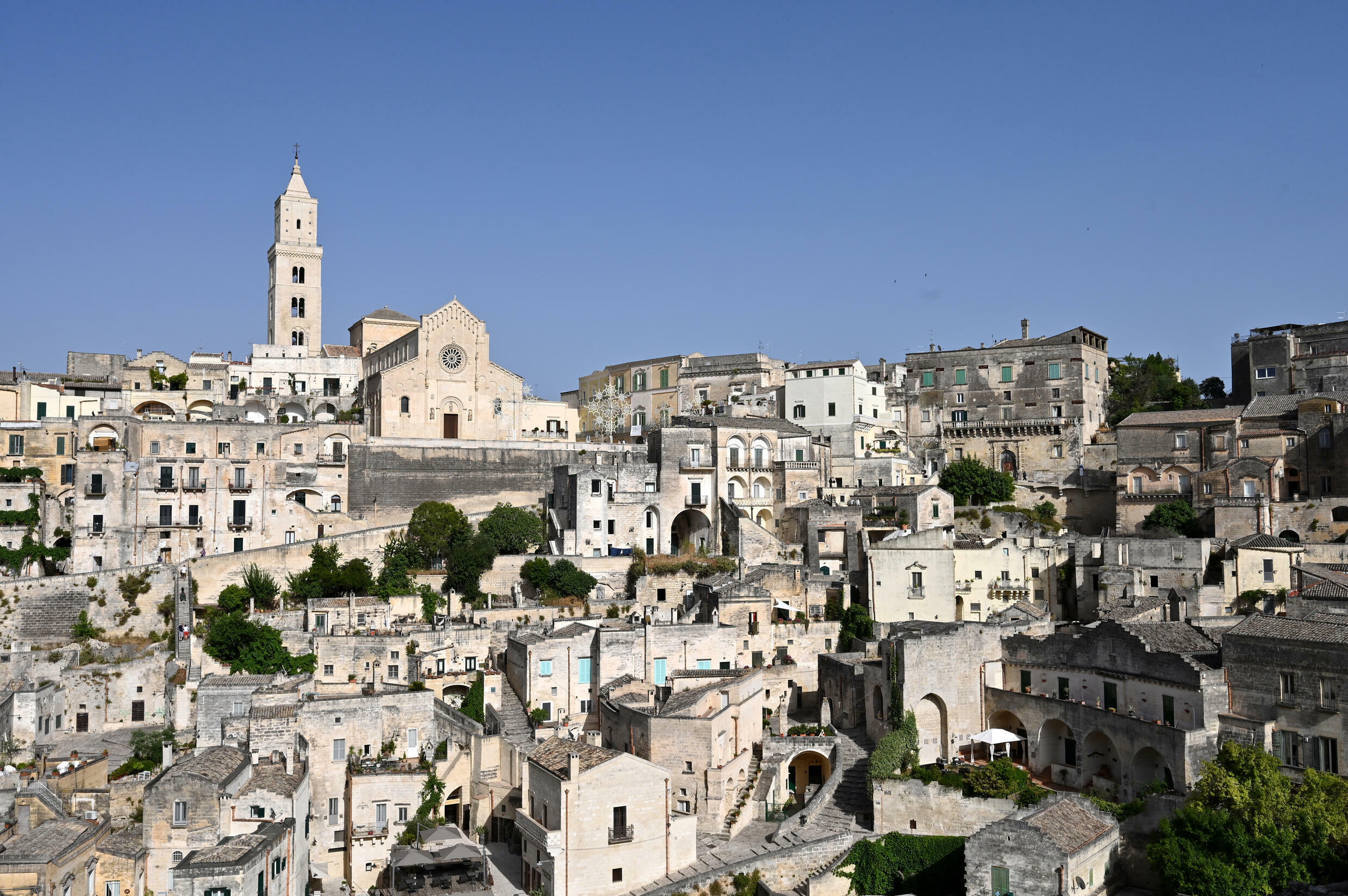 A view of the Italian city fo Matera where foreign ministers of the Group of 20 major economies are meeting