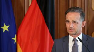 德國外長馬斯資料圖片