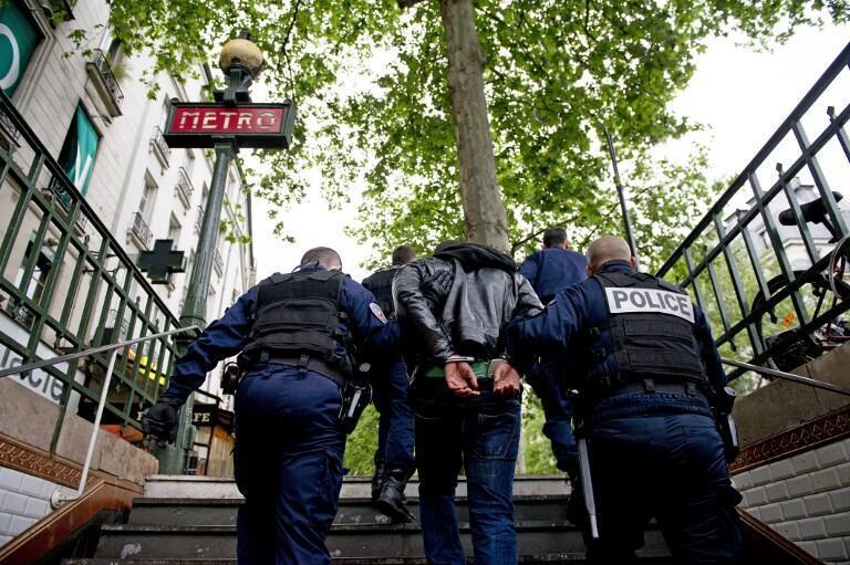 Полиция задержала подозреваемого в кражах в парижском метро (фото из архива).