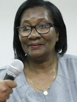 Ex-Ministra angolana da Acção Social e Família, Victória da Conceição, imagem da Angonotícias/O País com a devida vénia
