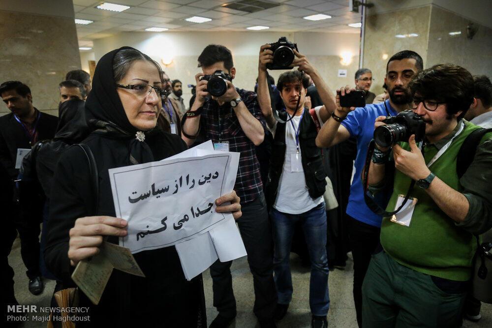 یکی از داوطلبان نامزدی در انتخابات ریاست جمهوری ایران