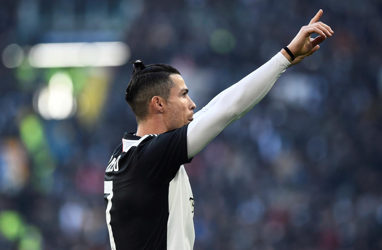 Cristiano Ronaldo was expected to feature in Juventus's Coppa Italia semi-final second leg clash against AC Milan but it and the other semi-final between Napoli and Inter Milan has been postponed.