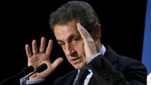 El ex presidente francés Nicolas Sarkozy. Archivo.