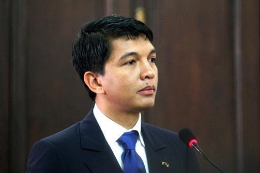 Andry Rajoelina, o actual homem forte de Madagáscar