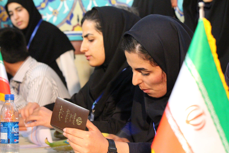 Dans le quartier de Shariati, les bureaux de vote ne désemplissaient pas dans les dernières heures du scrutin.