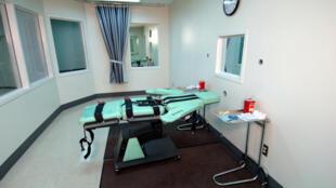 Một phòng thi hành án tử hình bằng cách chích thuốc độc.