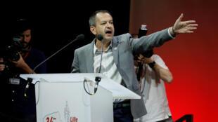 Discours de Pascal Pavageau à Lille après son élection à la tête du syndicat Force ouvrière.