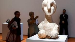 Exposição apresenta mais de 160 esculturas de Pablo Picasso