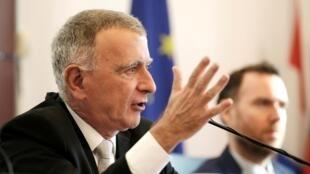 欧盟驻华代表团团长郁白(Nicolas Chapuis)资料图片