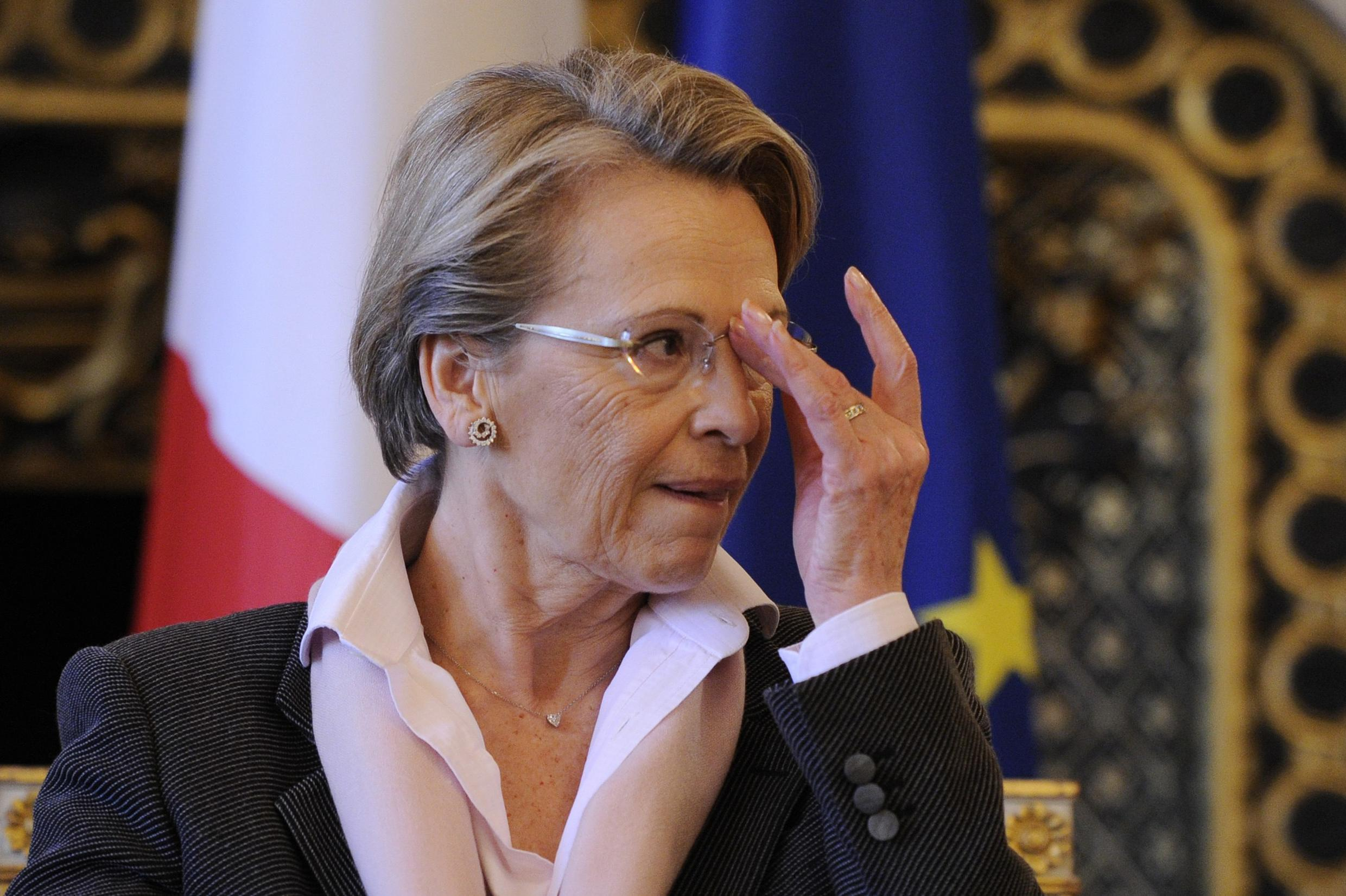 France's Foreign Minister Michele Alliot-Marie