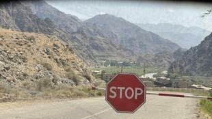 La frontière entre l'Iran et l'Arménie