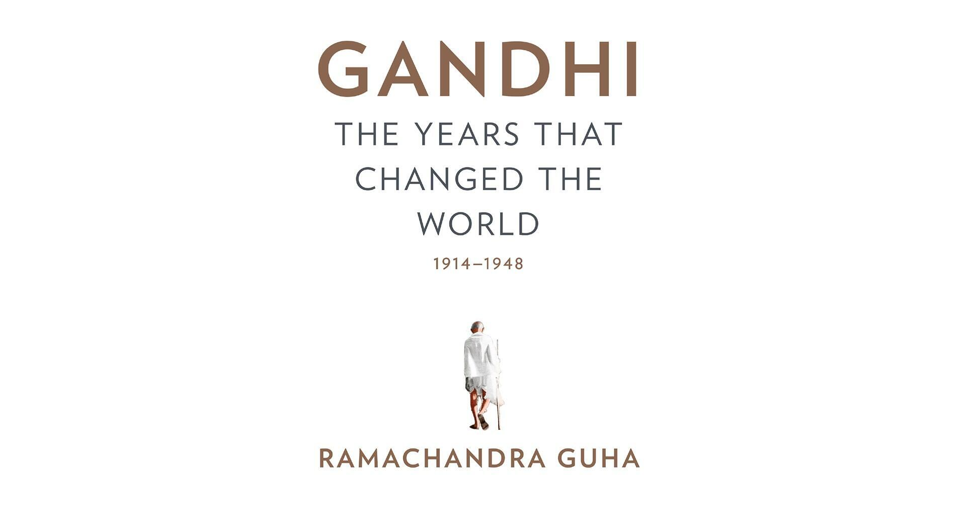 Couverture livre Ramachandra Guha «Gandhi—: The Years That Changed The World»