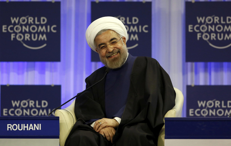 O presidente do Irã, Hassan Rouhani, disse que o Irã quer a paz e ter relações pacíficas com todos.