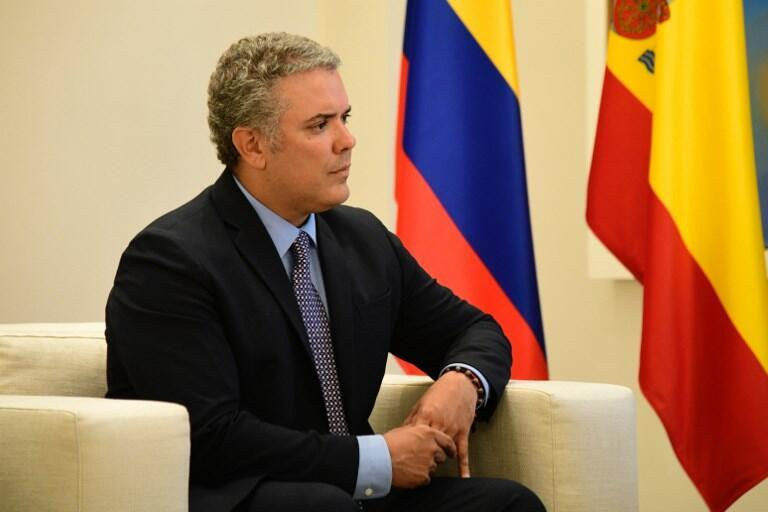 Iván Duque asume la presidencia de Colombia este martes 7 de agosto de 2018.