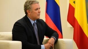 Le nouveau président colombien Ivan Duque sera investi le 7 août 2018.