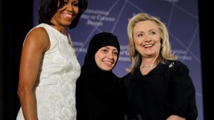 سمر بدوی در سال ۲۰۱۲ جایزه بین المللی شجاعت زنان را در آمریکا دریافت کرد.