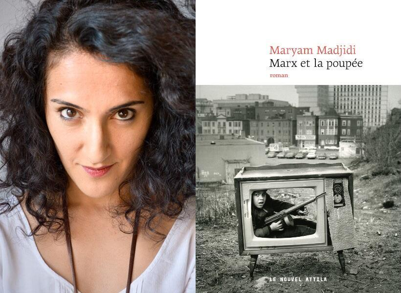 """جایزه ادبی گنکور برای نخستین رمان در سال ۲۰۱۷ به رمان """"مارکس و عروسک"""" نوشته """"مریم مجیدی""""، نویسنده ایرانی-فرانسوی تعلق گرفت."""