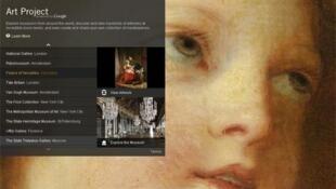 Google Art Project : http://www.googleartproject.com/
