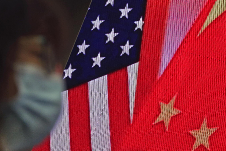 US - Chine - drapeau