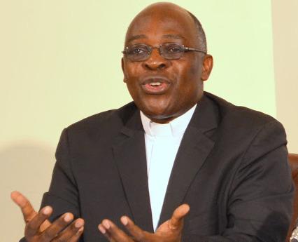 RDC: l'Abbé Léonard Santedi, secrétaire général de la Conférence épiscopale nationale du Congo (CENCO).