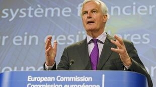 Michel Barnier, da Comissão Europeia, foi chamado às pressas nesta quarta-feira em Bruxelas para arquitetar um plano de salvamento para os bancos espanhóis.