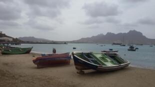 Baía de Mindelo. São Vicente. Cabo Verde. 1 de Fevereiro de 2015.
