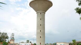 Le château d'eau d'Adetikope à Lomé.