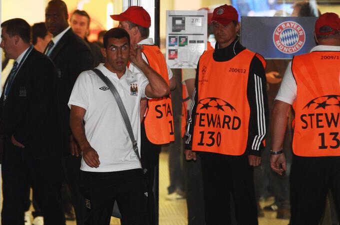 Mchezaji wa timu ya Man City Carlos Tevez