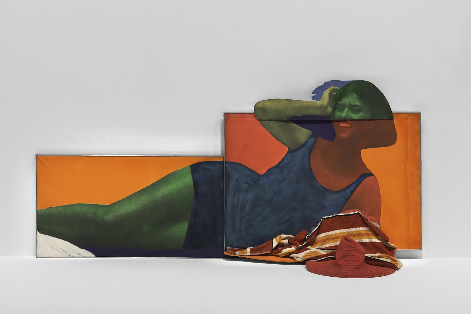 Martial Raysse, « Soudain l'été dernier », 1963, Centre Pompidou, MNAMCCI, Philippe Migeat