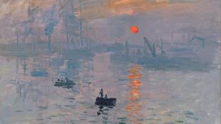 Claude Monet, Impression, soleil levant, 1872. Paris, musée Marmottan Monet, don Victorine et Eugène Donop de Monchy, 1940.