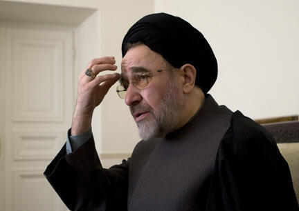 محمد خاتمی، رئیس جمهوری پیشین ایران - ٢٢ ژانویه ٢٠٠٨
