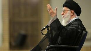 Giáo chủ Ali Khamenei, Iran. Ảnh chụp tại Tehran, ngày 7/09/2016.