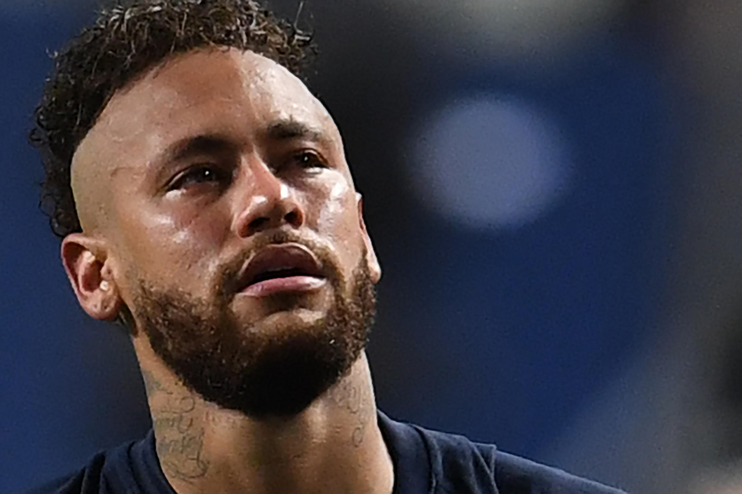 It ended in tears for Neymar after Sunday's Champions League final defeat to Bayern Munich in Lisbon