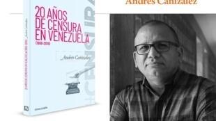 Detalle de portada y retrato de Andrés Cañizález.