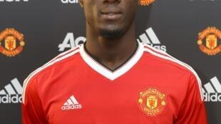 L'Ivoirien Eric Bailly sous les couleurs de Manchester United.