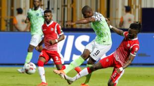 Odion Ighalo, avançado da Nigéria, apontou o único golo frente ao Burundi.