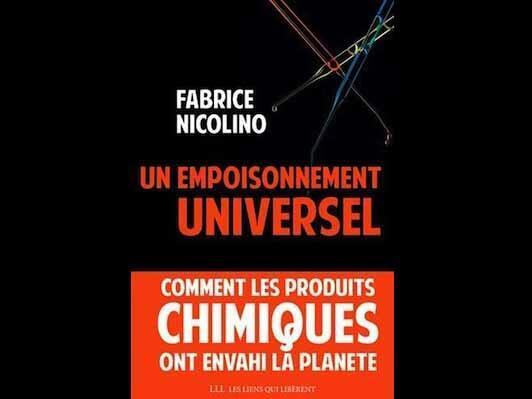 Couverture de l'ouvrage de Fabrice Nicolino, «Un empoisonnement universel».