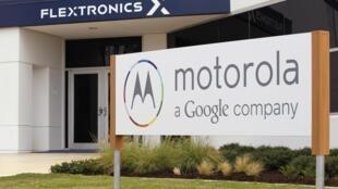 Le siège social de Motorola, au Texas, en septembre 2010.