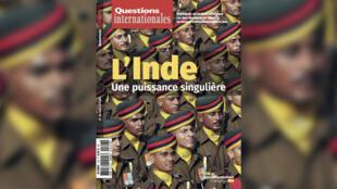 Couverture - revue Questions internationales - Inde une puissance singulière - la documentation française - Géopolitique le débat